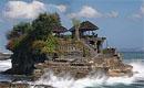 Tanah Lot templis, Bali, Indonēzija
