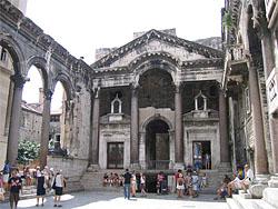 Diokletiana pils Splita, Horvātija