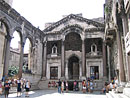 Diokletiana pils Splita, Horvatija