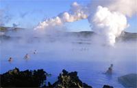 Zilā lagūna, islande